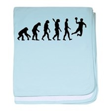 Evolution Handball baby blanket
