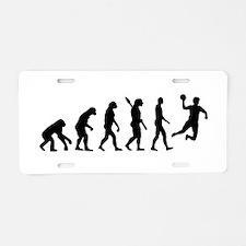 Evolution Handball Aluminum License Plate