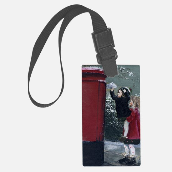 Christmas Special Delivery Large Luggage Tag
