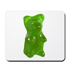 Green Gummy Bear Mousepad