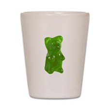Green Gummy Bear Shot Glass