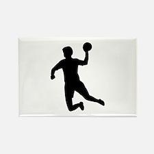 Handball player Rectangle Magnet