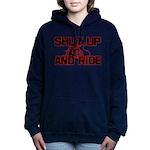 shut up ride .png Hooded Sweatshirt