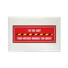 I'm the Chef Rectangle Magnet (100 pack)