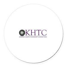 KHTC Logo Round Car Magnet