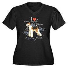 Wire Fox Terrier Plus Size T-Shirt