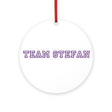 Team Stefan Ornament (Round)