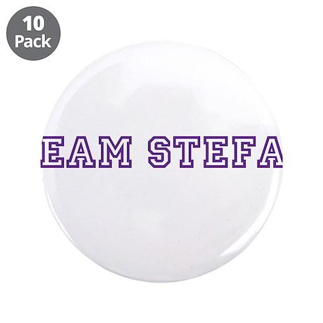 """Team Stefan 3.5"""" Button (10 pack)"""
