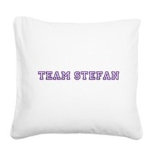Team Stefan Square Canvas Pillow