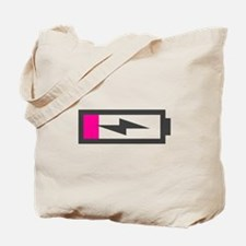Low Battery Tote Bag