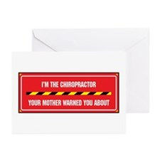 I'm the Chiropractor Greeting Cards (Pk of 10)