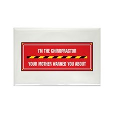 I'm the Chiropractor Rectangle Magnet (10 pack)