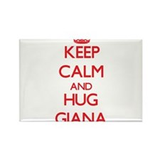 Keep Calm and Hug Giana Magnets