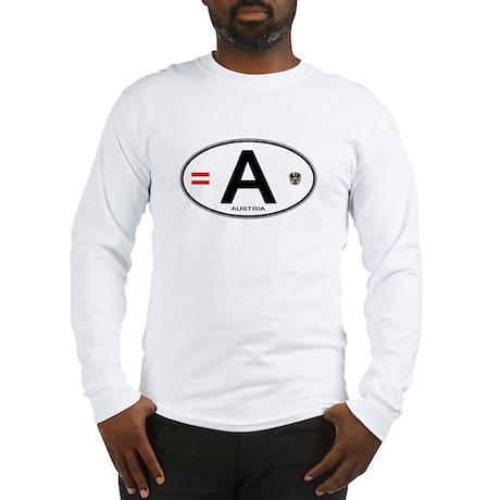 Austria Euro Oval Long Sleeve T-Shirt
