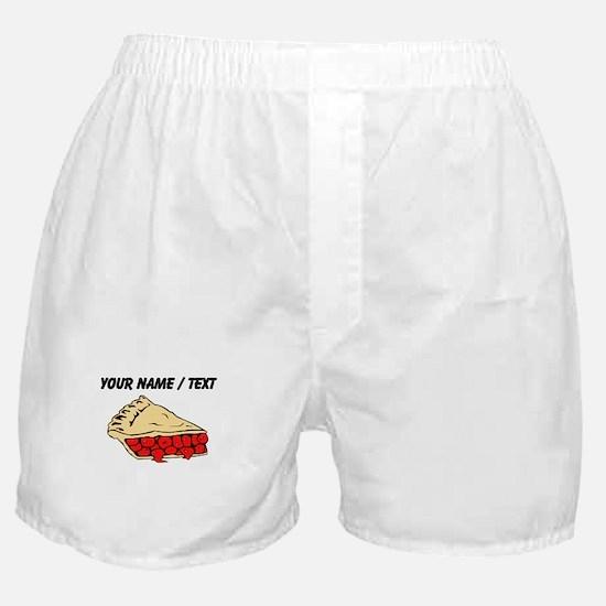 Custom Cherry Pie Boxer Shorts