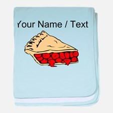 Custom Cherry Pie baby blanket