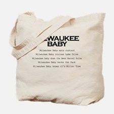 Milwaukee Baby Tote Bag