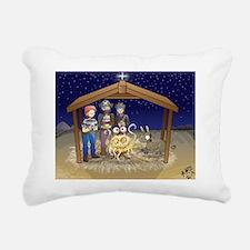 FSM Nativity Rectangular Canvas Pillow