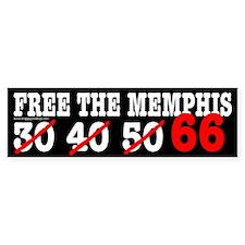 Free the Memphis 66 Bumper Bumper Sticker