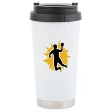 Dodgeball player Travel Coffee Mug