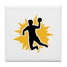 Dodgeball player Tile Coaster