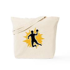 Dodgeball player Tote Bag