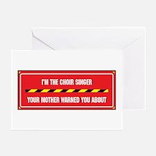 I'm the Choir Singer Greeting Cards (Pk of 10)