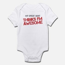 Great Aunt Awesome Infant Bodysuit