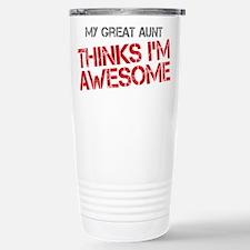 Great Aunt Awesome Travel Mug