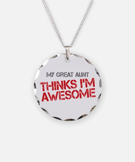 Great Aunt Awesome Necklace