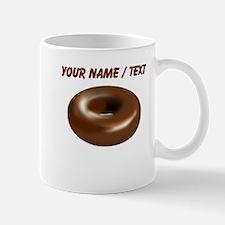 Custom Chocolate Donut Mugs