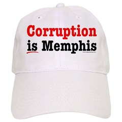 Corruption is Memphis Baseball Cap