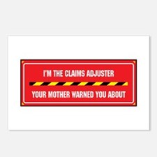 I'm the Claims Adjuster Postcards (Package of 8)