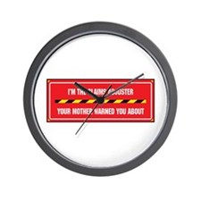 I'm the Claims Adjuster Wall Clock
