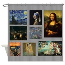 Art Gallery Shower Curtain