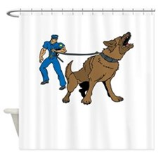 Police K9 Unit Shower Curtain