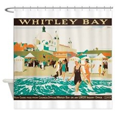 Whitley Bay, England, Travel, Vintage Poster Showe