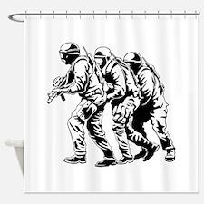 SWAT Team Shower Curtain
