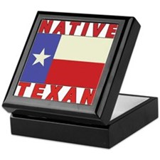 Native Texan Keepsake Box