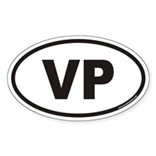 VP Euro Oval Decal