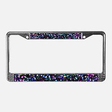 Glitter 1 License Plate Frame