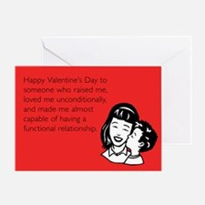 Functional Relationship Greeting Card