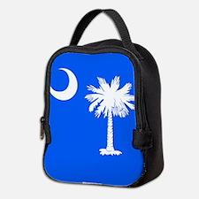 SC Palmetto Moon State Flag Blue Neoprene Lunch Ba