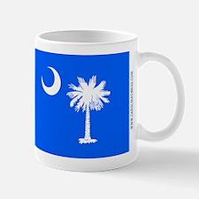 SC Palmetto Moon State Flag Blue Mug