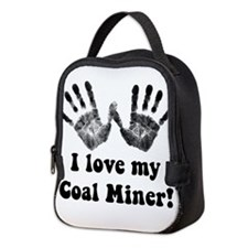 coal miner love.png Neoprene Lunch Bag
