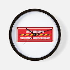 I'm the Bobsledder Wall Clock