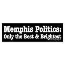 The Best & Brightest Bumper Bumper Sticker