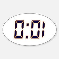 Auburn 1 Second Decal