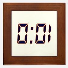 Auburn 1 Second Framed Tile