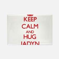 Keep Calm and Hug Jadyn Magnets
